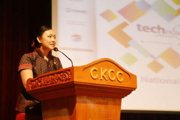 Speech of H.E Kim Sethany Secretary of State of Ministry of Education, Youth and Sport in the Openning Ceremony of National Pitch Event for Technovation 2016